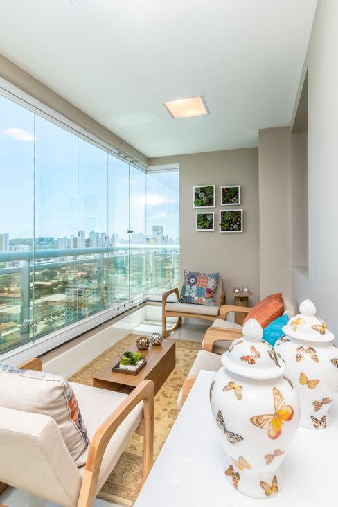 TRENNA ARQUITETURA Balcones y terrazas modernos: Ideas, imágenes y decoración