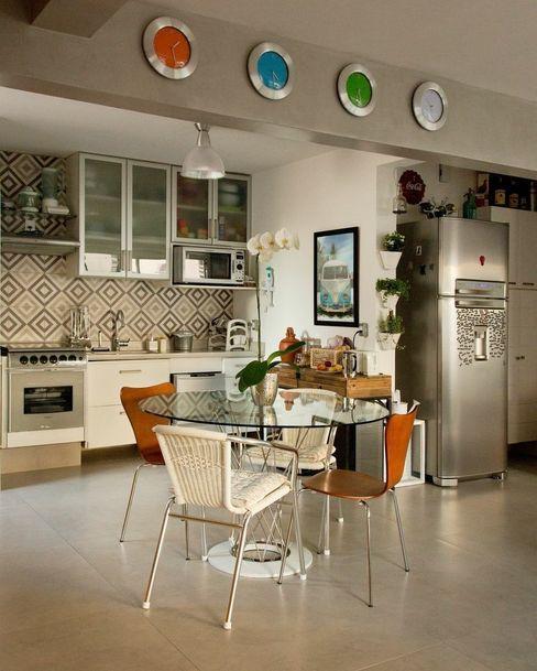 Aptº Higienópolis Boutique Arquitetura Cozinhas modernas