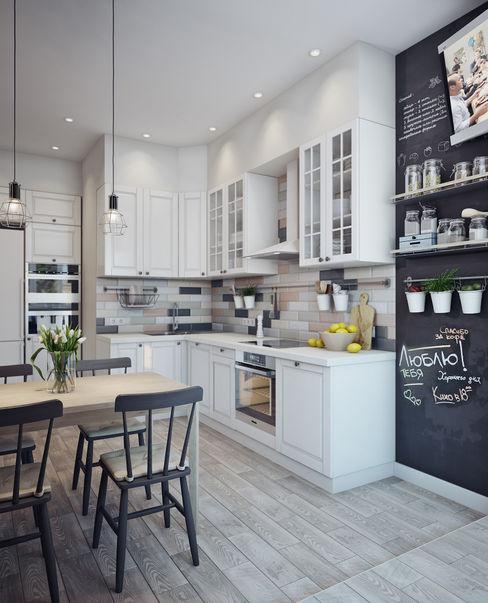 Анна Теклюк Scandinavian style kitchen