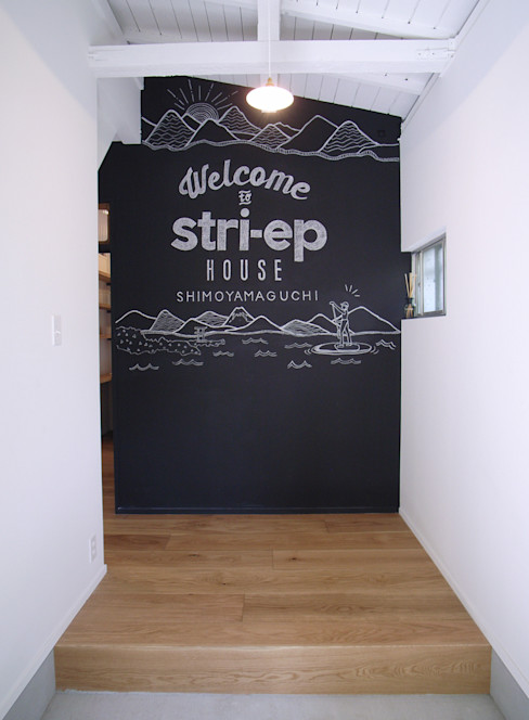 vibe design inc. Tường & sàn phong cách chiết trung