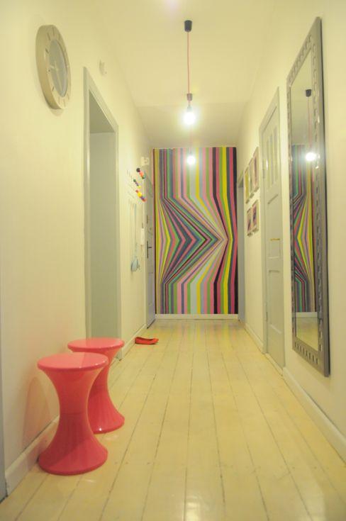 Perfect Home Corredores, halls e escadas escandinavos