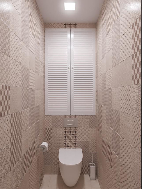 Tina Gurevich Eclectic style bathroom