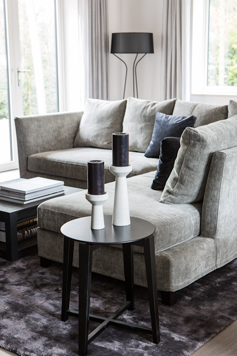 Private Residence, Surrey Nice Brew Interior Design Living roomSofas & armchairs