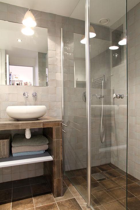 Pavillon esprit loft MSD architecte d'intérieur Salle de bain moderne