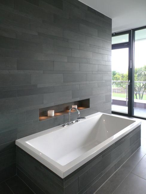 Wohnhaus Solingen Bahl Architekten BDA Moderne Badezimmer
