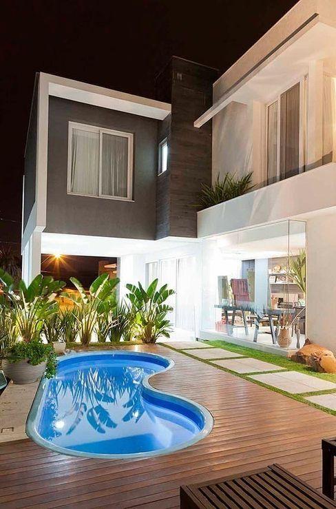 ANDRÉ PACHECO ARQUITETURA Modern pool