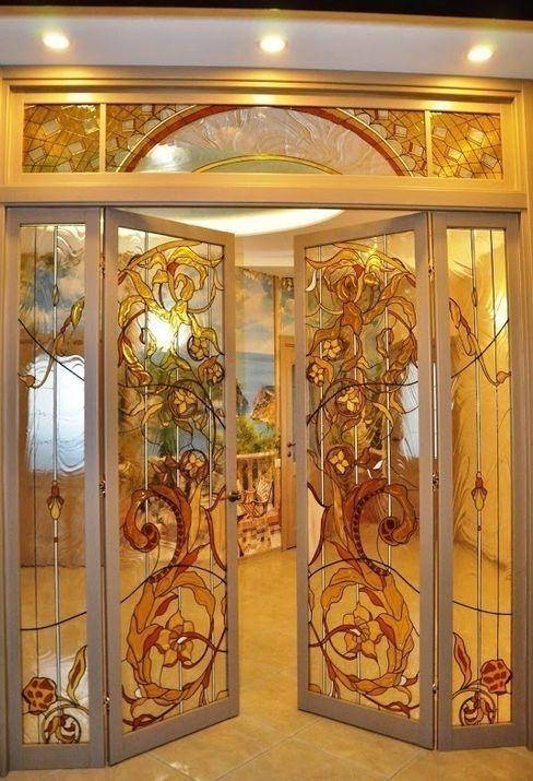 Витражная мастерская 'Гранат' Puertas y ventanasPuertas