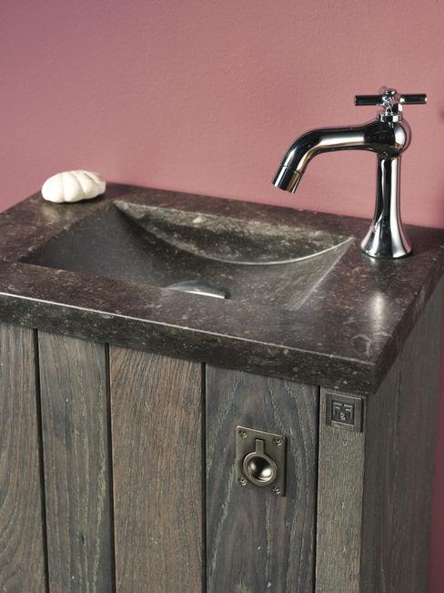 Waschbecken aus Natustein F&F Floor and Furniture BadezimmerWaschbecken