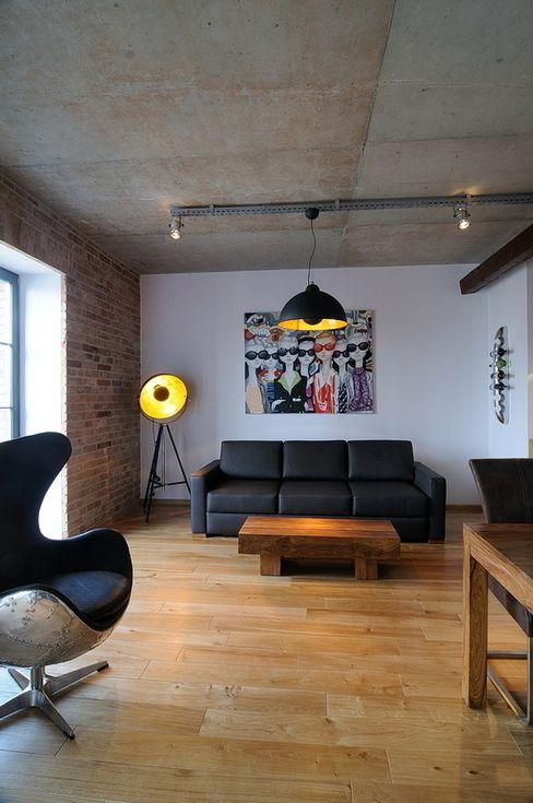 ARTEMA PRACOWANIA ARCHITEKTURY WNĘTRZ Salones industriales