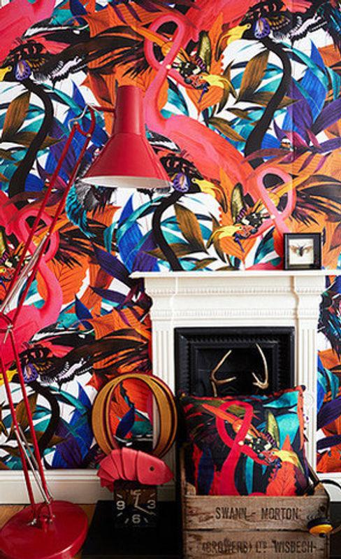 Kristjana S Williams, Andy Palmer Garden Wall Mural Dust 벽 & 바닥벽지