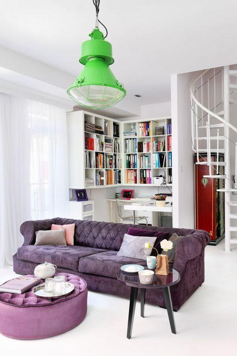 livinghome wnętrza Katarzyna Sybilska Modern living room