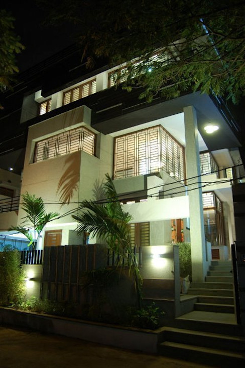 Muraliarchitects Moderne huizen