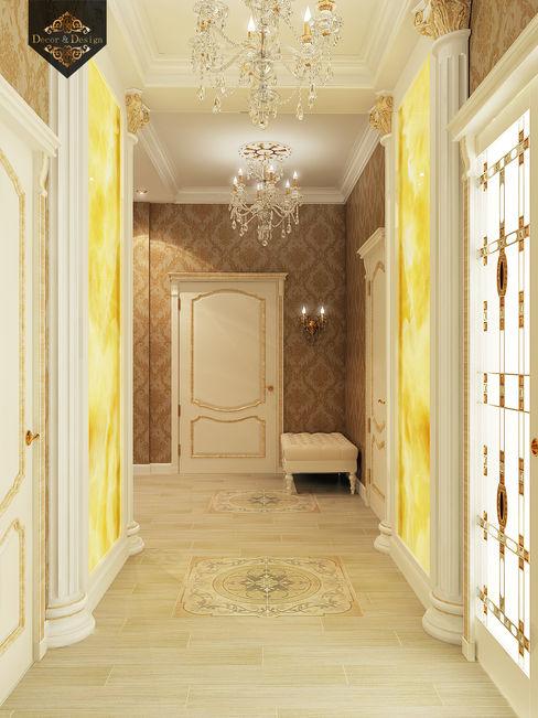 Decor&Design Classic corridor, hallway & stairs