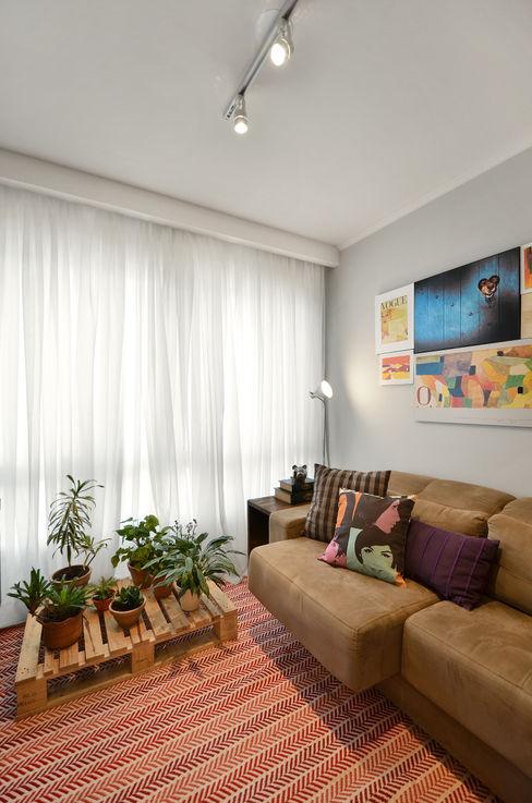 CR Arquitetura&paisagismo Modern Living Room