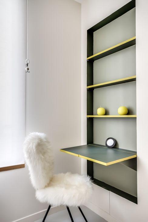 Meero ミニマルデザインの 書斎