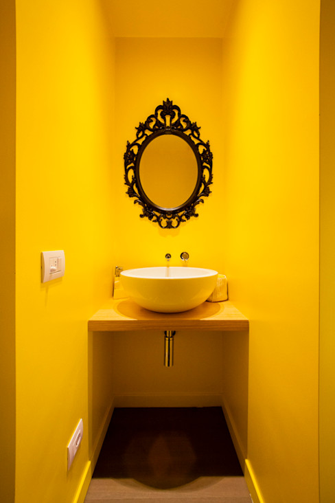 23bassi studio di architettura Minimalist bathroom