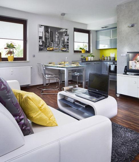 ZIZI STUDIO Magdalena Latos Modern Living Room