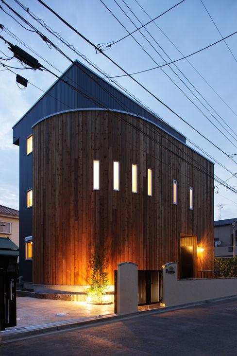 見せたがらない家 有限会社タクト設計事務所 オリジナルな 家