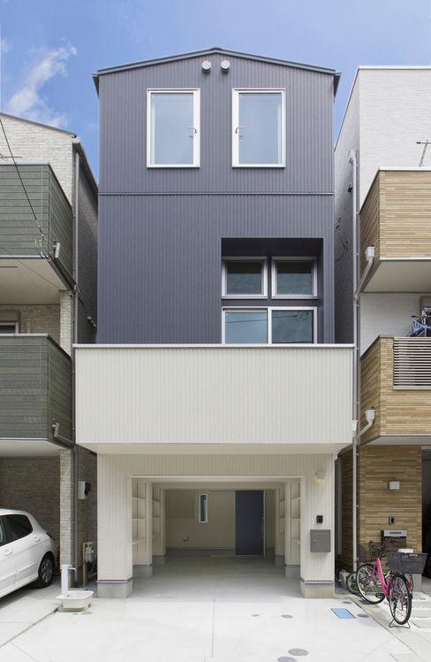 秦野浩司建築設計事務所 모던스타일 주택
