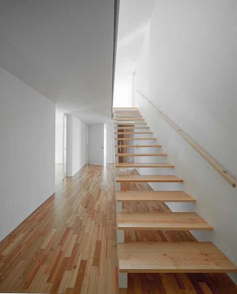 PEDROHENRIQUE|ARQUITETO Koridor & Tangga Modern