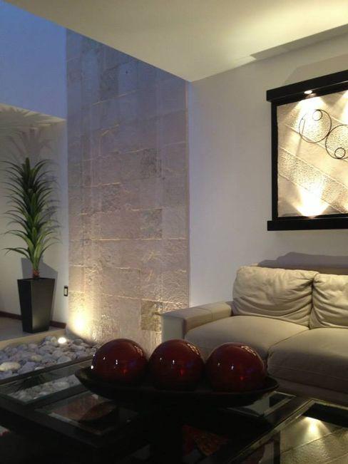 SANTIAGO PARDO ARQUITECTO Moderne Wohnzimmer