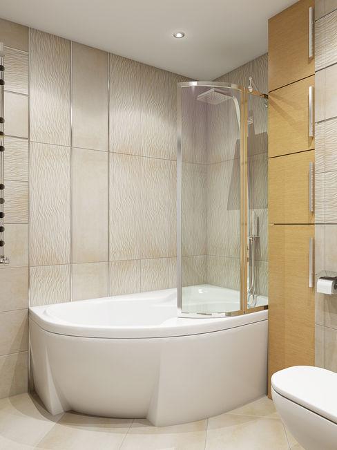 Tatiana Zaitseva Design Studio Minimal style Bathroom