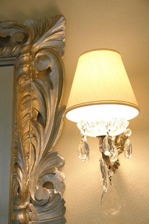 Applique - dettaglio Anna Paghera s.r.l. - Interior Design Camera da letto in stile classico