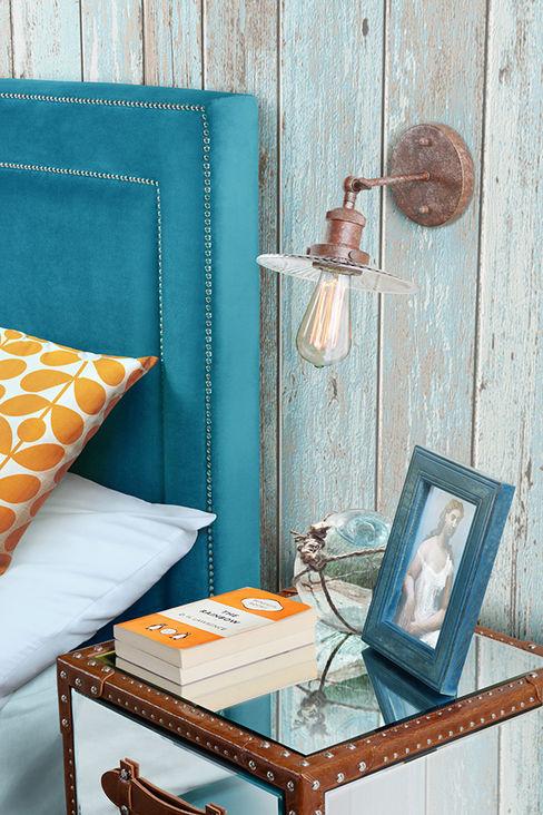 Jerome Vintage Wall Light homify BedroomLighting