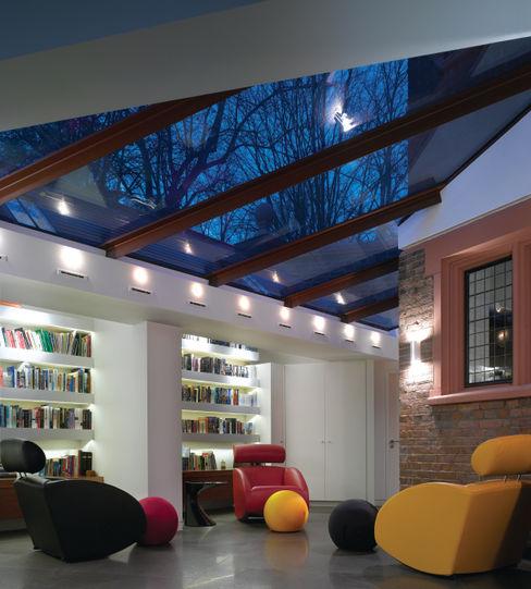 Klippan House Belsize Architects Modern study/office