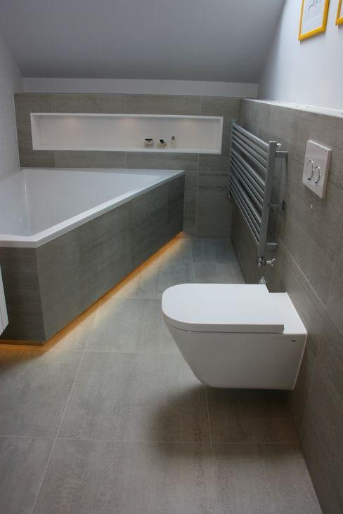 homify Nowoczesna łazienka