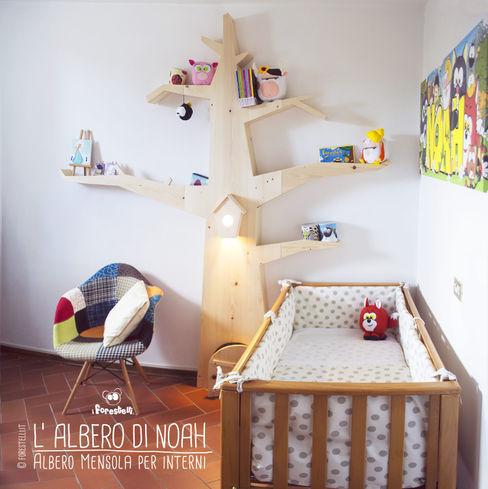 I Forestelli KinderzimmerKleiderschränke und Kommoden Massivholz Holznachbildung