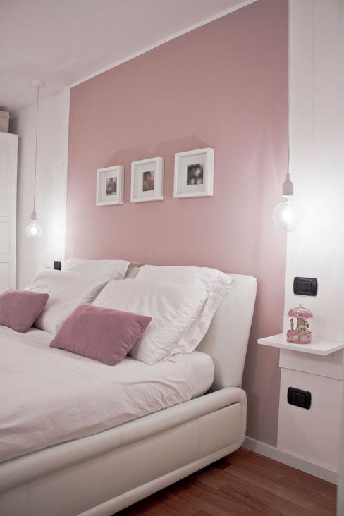 RELOOKING DI UN APPARTAMENTO CON SOPPALCO Laura Lucente Architetto Camera da letto moderna
