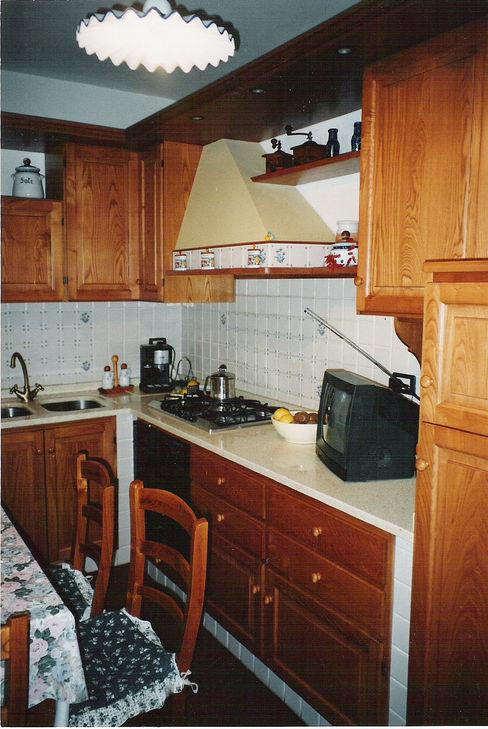 Falegnameria Martinelli Sergio 廚房收納櫃與書櫃 木頭