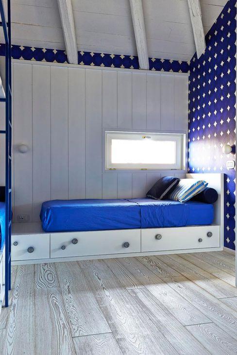 Architetto Alboini Maria Gabriella Eclectic style bedroom