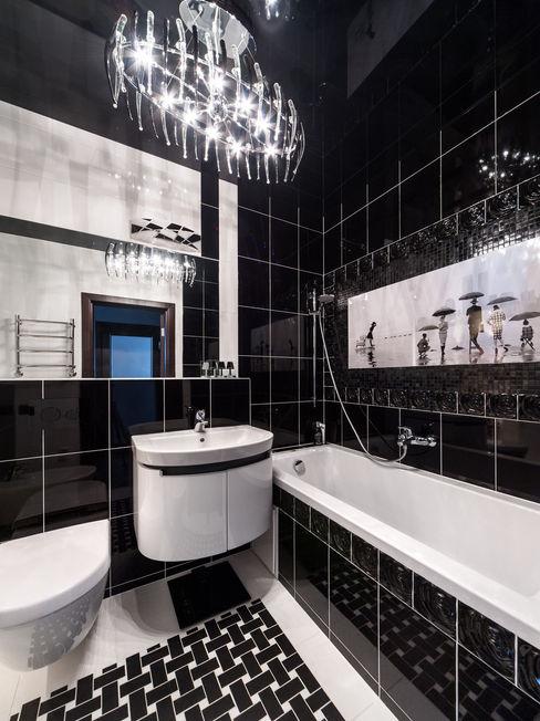 homify Modern Bathroom Black