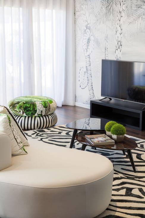 Zona TV Movelvivo Interiores SalasMuebles de televisión y dispositivos electrónicos