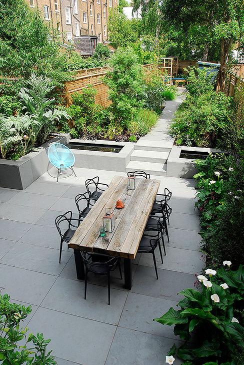 Contemporary Garden Design by London Based Garden Designer Josh Ward Josh Ward Garden Design Modern Bahçe