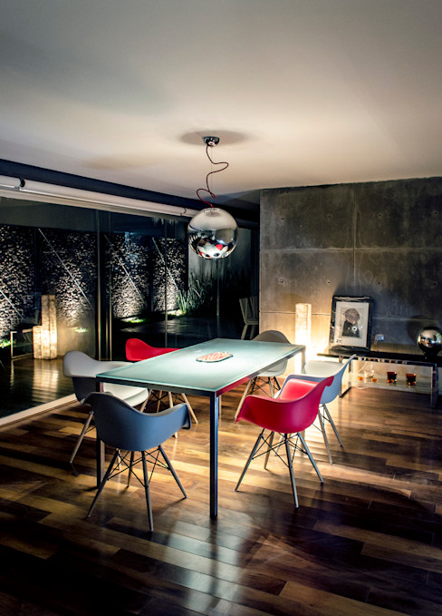 Casa Xafix / Arkylab homify Comedores de estilo moderno
