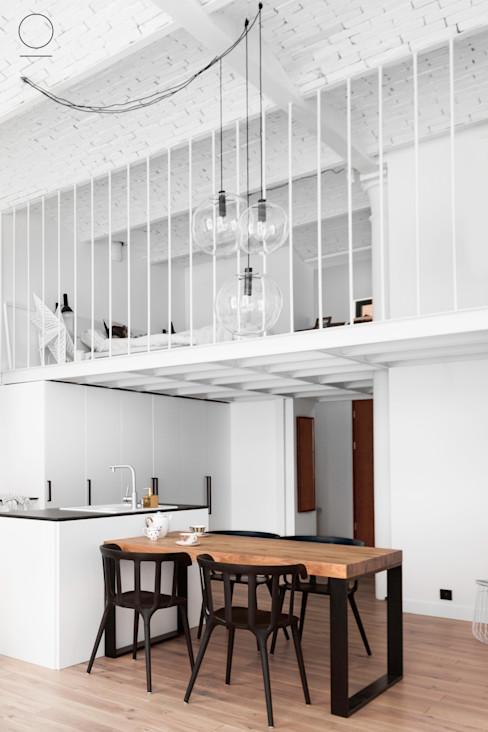 OIKOI Industrial style kitchen White