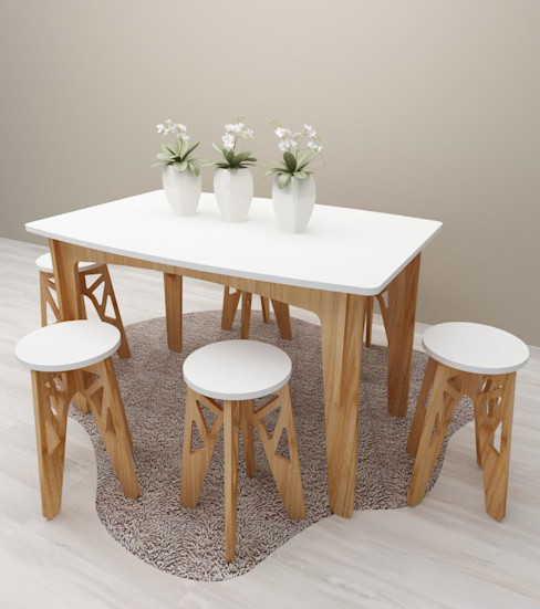 homify HouseholdAccessories & decoration Wood effect