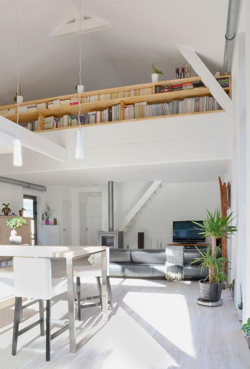 Bertin Bichet Salas de estilo escandinavo Blanco