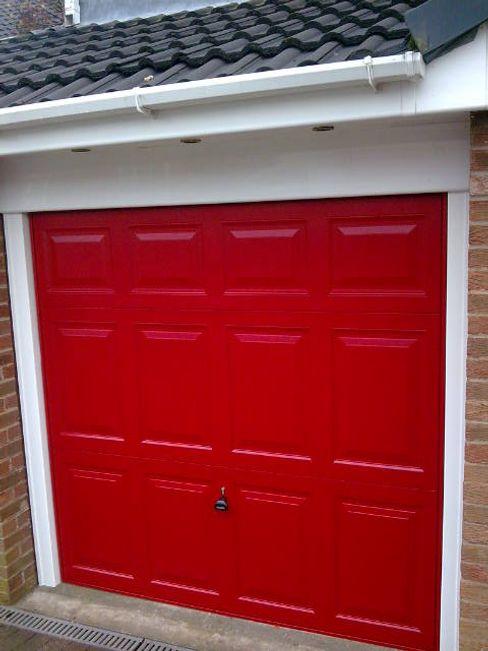 CBL Garage Doors Ventanas y puertasPuertas Rojo