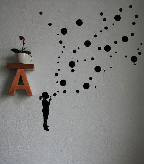 SILBERFISCHER 嬰兒/兒童房裝飾品 Black
