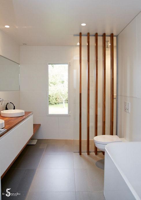 une salle de bain zen Emilie Bigorne, architecte d'intérieur CFAI Salle de bain minimaliste