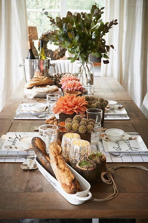 Villa Riviera Dining roomCrockery & glassware