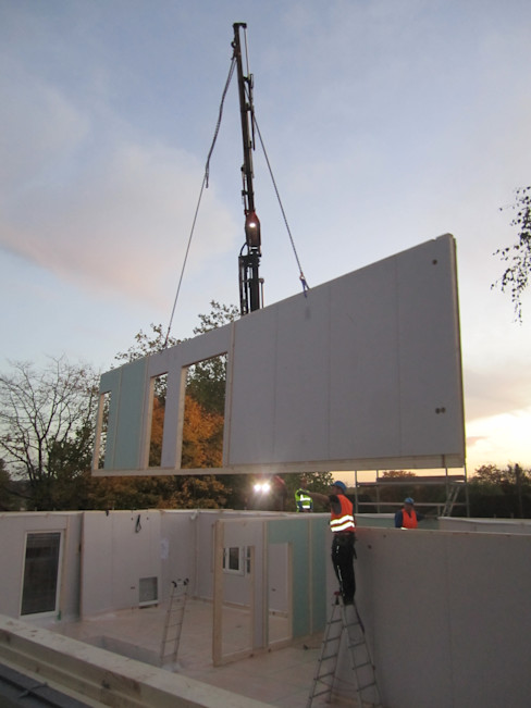 Construction day 2 The Chase Architecture Moderne huizen