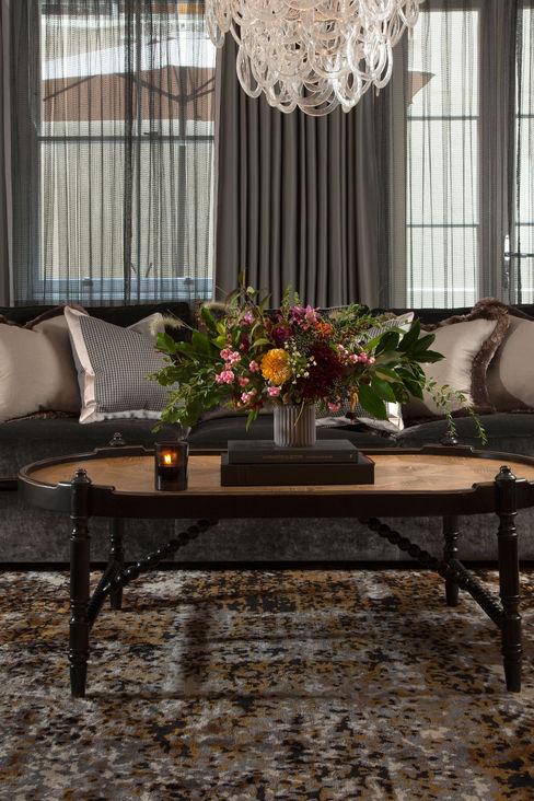 Living Room Roselind Wilson Design غرفة المعيشة