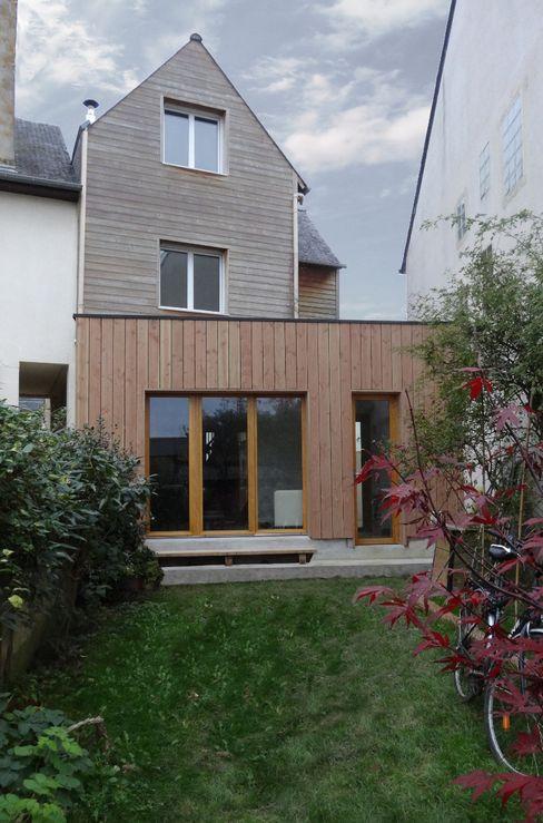 Etat final, avec extension sur jardin Briand Renault Architectes