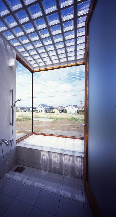 土の器:大網白里町の家 AIRアーキテクツ建築設計事務所 モダンスタイルの お風呂