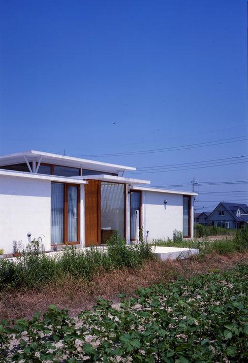 土の器:大網白里町の家 AIRアーキテクツ建築設計事務所 モダンな 家